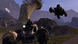 Vehicular combat in 'Borderlands'