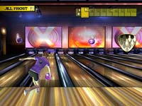Single player action in Brunswick Pro Bowling