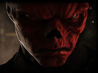 Captain America's arch enemy, Red Skull, from Captain America: Super Soldier