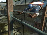 A platforming screenshot from Captain America: Super Soldier