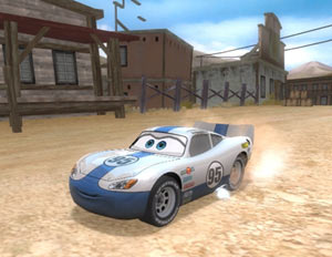 A new Lightning McQueen adventure in Cars Race-O-Rama