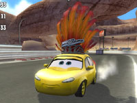 One of 15 new playable characters in Cars Race-O-Rama