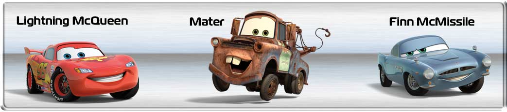 Cars 2 Characters Names With Pictures