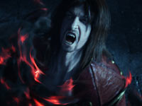 Gabriel Belmont in a vampiric rage in Castlevania: Lords of Shadow 2