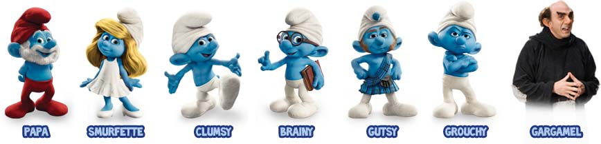 Meet The Smurfs