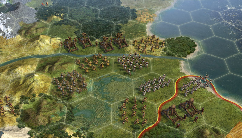 Amazon sid meiers civilization v mac pc video games new hex oriented area sections in sid meiers civilization v sciox Image collections