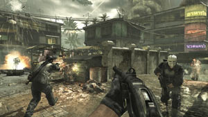 Multiplayer screen from Call of Duty: Modern Warfare 3