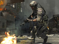 Combat screen from Call of Duty: Modern Warfare 3