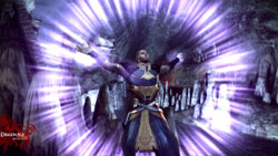 New character Anders in action in Dragon Age: Origins - Awakening