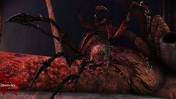 A screenshot of one of the Children, a new creature found in Dragon Age: Origins - Awakening
