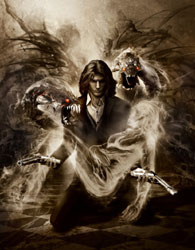 Key game art for The Darkness II