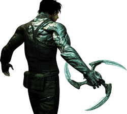 Hayden and his glaive