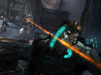 Taking cover in Dead Space 3