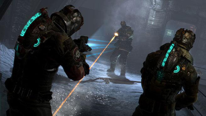 Co Op Gameplay From Dead Space 3