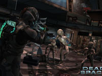 Targeting deadly baby-like Necromorphs in Dead Space 2