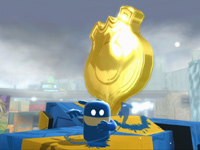 de Blob feeling blue in de Blob 2