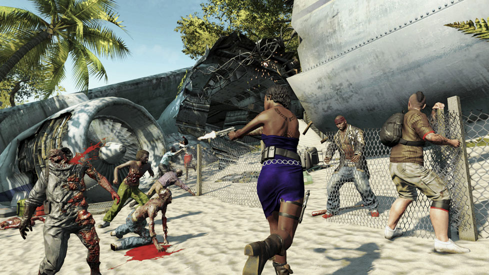 how to get guns in dead island