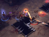 A Versus gameplay screen from Diablo III