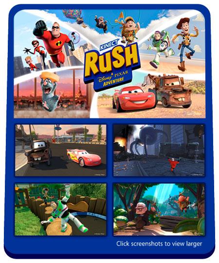 Amazon.com: Kinect Rush: A Disney Pixar Adventure - Xbox 360
