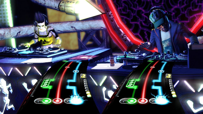 Amazon.com: PS3 DJ Hero Bundle with Turntable: Playstation