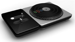 Turntable controller for DJ Hero