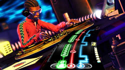 Single player gameplay in DJ Hero