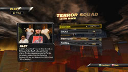 Game mode select screen from Def Jam Rapstar