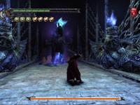 A boss battle from Devil May Cry 3