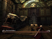 A game environment from Devil May Cry 2