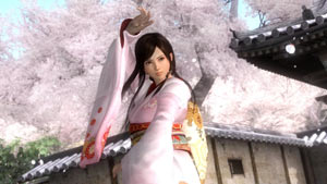 Kokoro flowing through a training routine in Dead or Alive 5