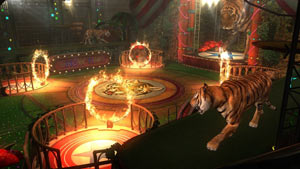 'The Show' fighting stage of Dead or Alive 5