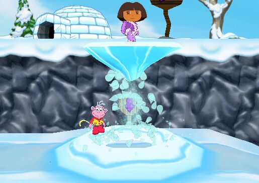 Monkey in 'Dora the Explorer: Dora Saves the Snow Princess' for PS2