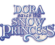 'Dora the Explorer: Dora Saves the Snow Princess' game logo for Wii