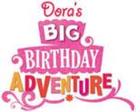 Dora the Explorer: Doras Big Birthday Adventure game logo