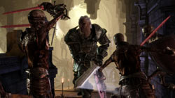 Gritty, brutal action in 'Dragon Age: Origins'