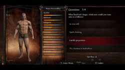 The Pawn customization screen from Dragon's Dogma