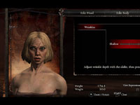 Character customization screen from Dragon's Dogma