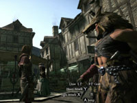 Action in-town in Dragon's Dogma