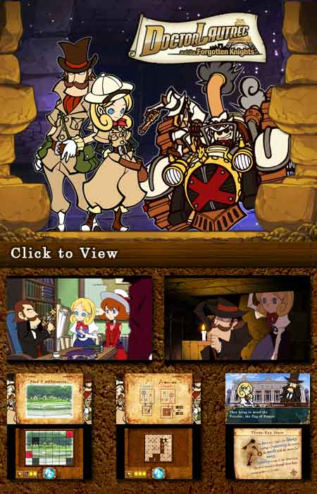 Doctor Lautrec and the Forgotten Knights Screens
