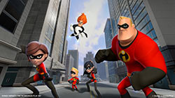 The DISNEY INFINITY: The Incredibles play set
