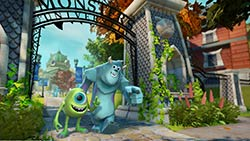 The DISNEY INFINITY: Monsters University play set