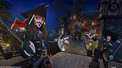 The DISNEY INFINITY: Pirates of the Caribbean play set