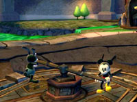 Co-op gameplay in Disney Epic Mickey 2: The Power of Two