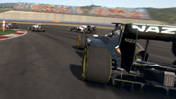 Racing from the back of the pack in F1 2011