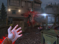 The telekinetic powers of Fettel in F.E.A.R. 3