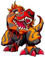 T-Rex Character Art