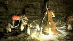 Striking a blow against an attacking creature in Final Fantasy XIV: A Realm Reborn