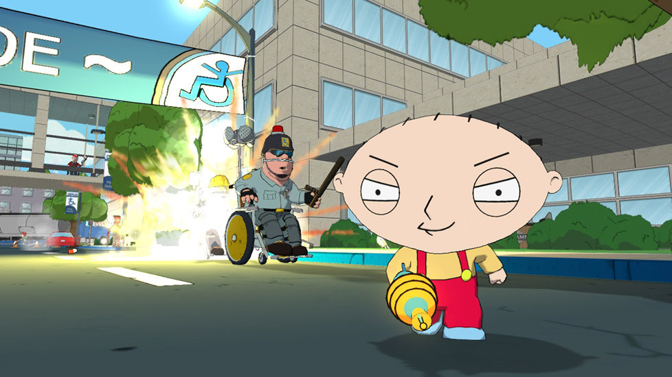 family guy back to the multiverse xbox 360 pc video games. Black Bedroom Furniture Sets. Home Design Ideas