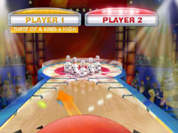 Yahtzee! Bowling screenshot from Family Game Night 4: The Game Show