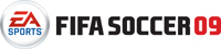 'FIFA Soccer 09' for Xbox 360 game logo